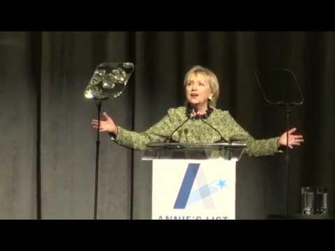Hillary Clinton at Houston luncheon 04/07/2017