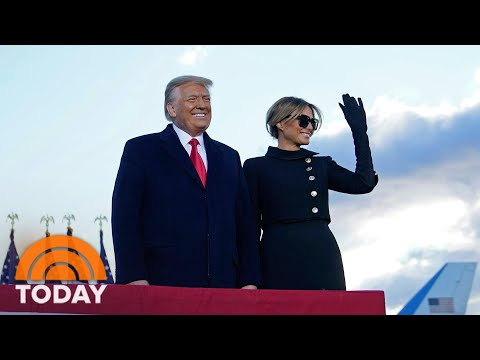 Donald Trump And Melania Were Quietly Vaccinated In January | TODAY
