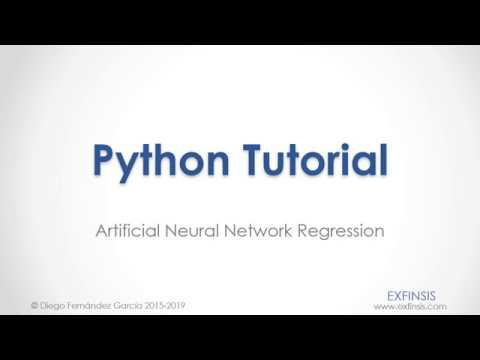 Python Tutorial. Artificial Neural Network Regression thumbnail