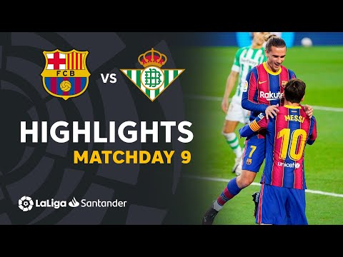 Barcelona Betis Goals And Highlights
