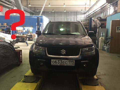 Suzuki Grand Vitara 3 - Где искать стуки в передней подвеске