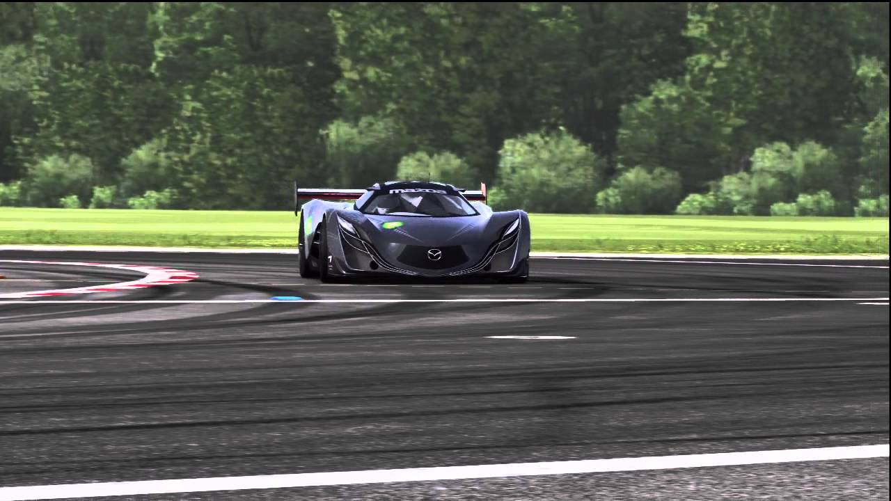 Mazda Furai Top Gear Track