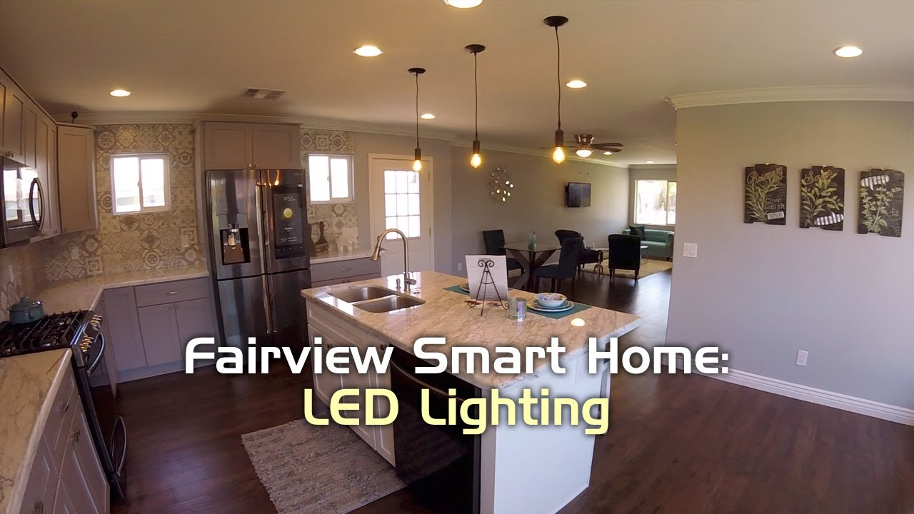 Fairview Smart Home Philips Led Lighting Youtube