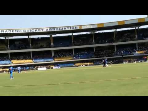 blind cricket match in indore holkar stadium