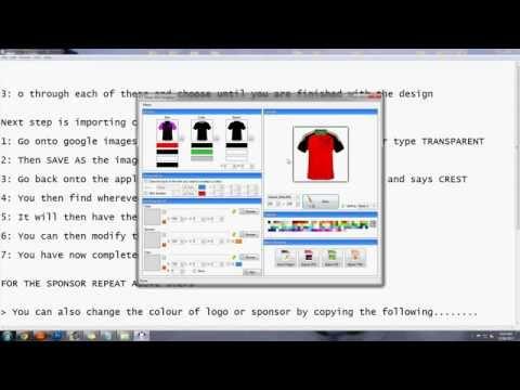 How To Make Football Kits On Smart Shirt Designer 2