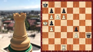 Chess Puzzle: Staircase To Heaven #2