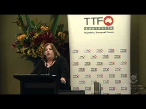 Ms Nell Anderson - UQ School of Tourism China Tourism Research Symposium Part 1
