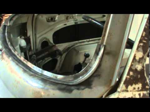 Vw Bus Bay Window Windshield Rust Repair Pt 1 Youtube
