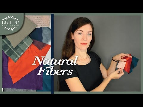 Natural Fibers And What They're Good At | FABRIC GUIDE | Justine Leconte