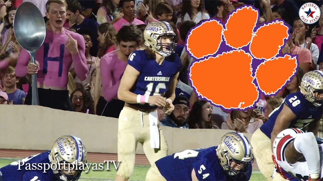Trevor Lawrence was perfect, but had his best game for Clemson in ...