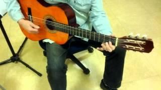 La Partida Valse Manouche - Cours guitare MJC Valbonne Sophia Antipolis