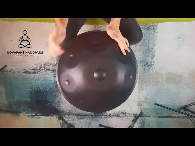 Handpans Players | Novapans Handpans | 9 Note Handpan in G Celtic Minor | Generation 1