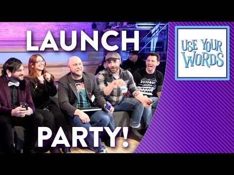 Use Your Words - Video Game Launch Party with Brentalfloss