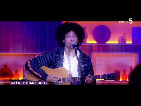 Youtube: Le live: Rilès«Thank god» – C à Vous – 09/09/2019