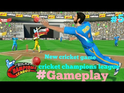 New Cricket Game Cricket Champions League Gameplay