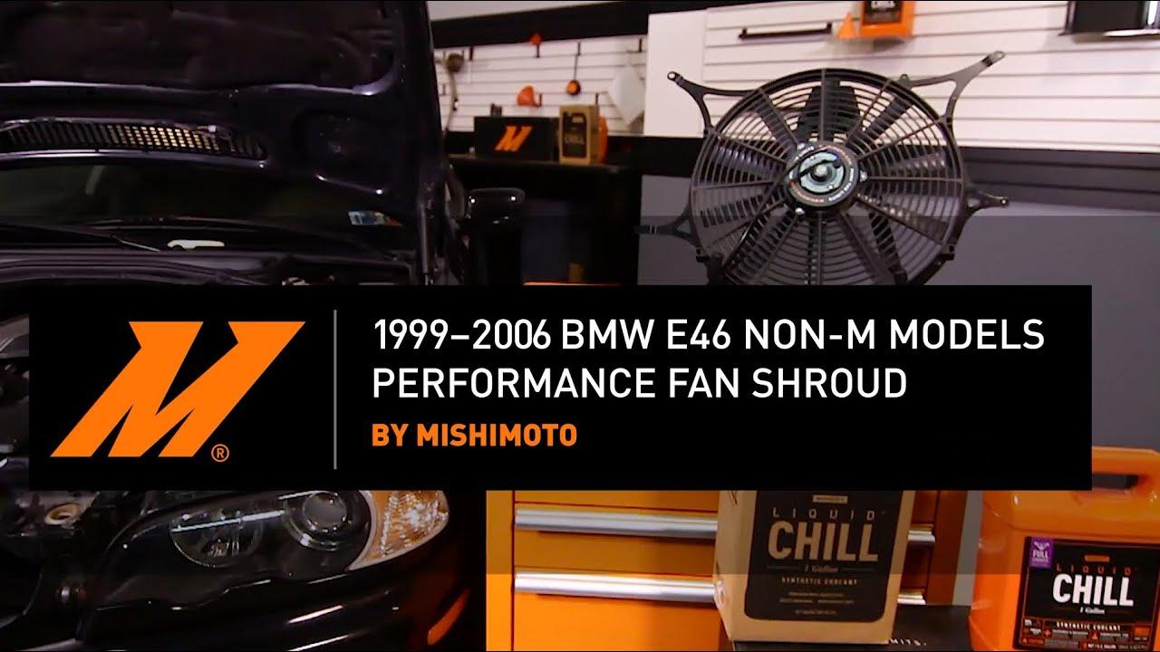 1999–2006 Manual MISHIMOTO BMW E46 Non-M Performance Aluminum Radiator