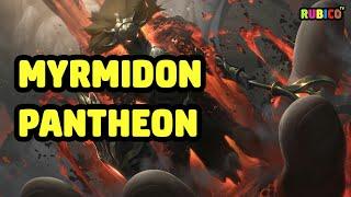 MYRMIDON PANTHEON SKIN SPOTLIGHT - LEAGUE OF LEGENDS