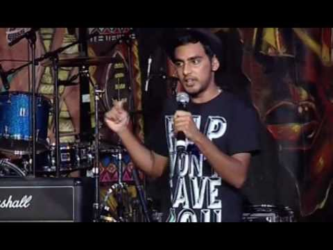 Dashen Naicker at Poetry Africa 2011 (Bat Centre)