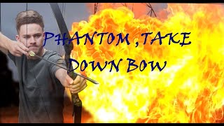 SHOOTING A GAS BOTTLE with BOW And Arrow PHANTOM RECURVE BOW