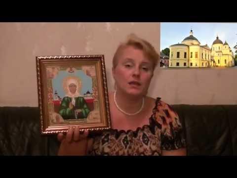 Матрона московская вышивка