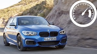 BMW M140i xDrive acceleration: 0-60 mph, 0-100 km/h, 0-250 km/h (top speed) :: [1001cars]