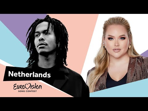 Eurovisioncalls Jeangu Macrooy - The Netherlands 🇳🇱 with NikkieTutorials