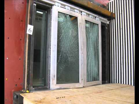 Blast Resistance Tests On Pensher Doors And Screens In A