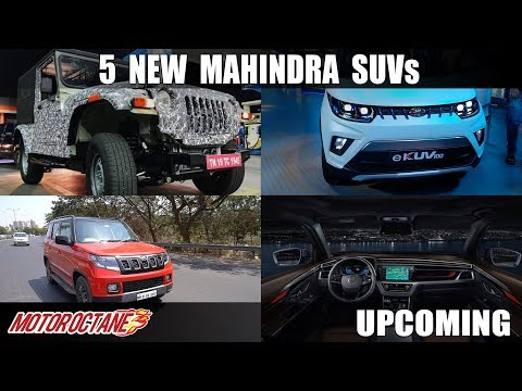 5 Mahindra New SUV LAUNCHES SOON | Hindi | MotorOctane
