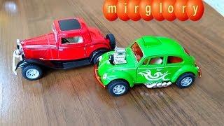 Машинки Ретро Обзор игрушек машинок Видео для детей про машинки игрушки