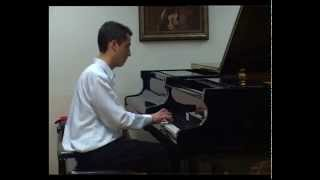 Bach - Prelude and Fugue No. 2 in C minor performed by Pece Neshkovski
