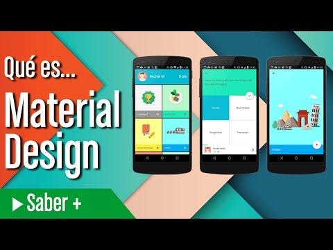 Qué es Material Design