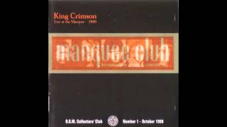 King Crimson - I Talk to the Wind (Live at the Marquee - 1969)