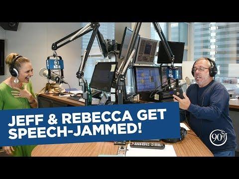 Jeff & Rebecca Get Speech-Jammed! | 90.9 KCBI FM