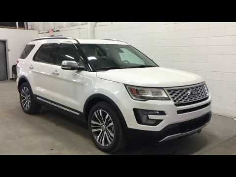 2017 Ford Explorer 4WD 4dr Platinum | Boundary Ford