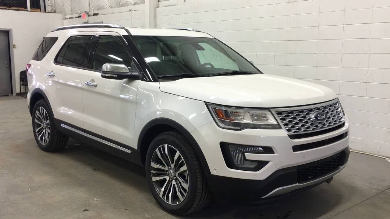 2017 ford explorer 4wd 4dr platinum boundary ford youtube