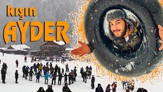 Gambar cover Kışın AYDER Yaylası (Rize Vlog)