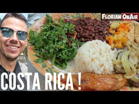 Mon 1er REPAS au COSTA RICA - VLOG #490