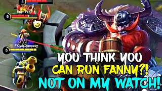 FANNY TRIES TO HIDE! *HOOKS* NOT TODAY!!! 😈 | PRACTICING HOW TO HOOK WITH FRANCO! | MOBILE LEGENDS