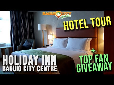 Holiday Inn Baguio City Centre Hotel Tour | Baguio City Guide |Baguio Vlog | Baguio City Hotels