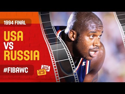 USA Vs Russia | FINAL - Full Game | 1994 FIBA Basketball World Cup