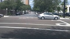 Driving Downtown Jacksonville Fl 37 minutes