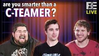 Are YOU Smarter Than a C-Teamer? w/ Tom, Eric, and Brandon!