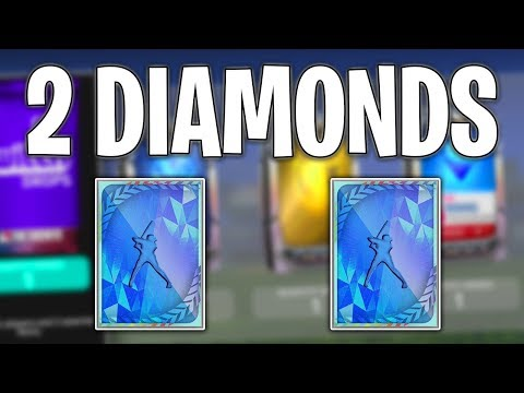 2 GUARANTEED DIAMOND PACKS! MLB The Show 19 Diamond Dynasty Pack Opening and Gameplay