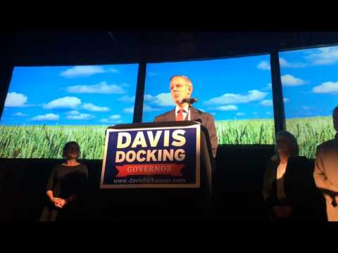 Democrat Paul Davis concedes defeat in Kansas governor race