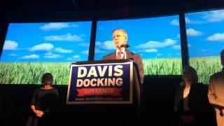 Democrat Paul Davis concedes defeat in Kansas governor race
