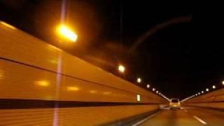 関越トンネル 上り 土樽PA~谷川岳PA