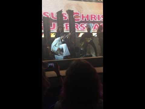 Jesus Christ Superstar col cast originale,Sistina 21/09/2014.