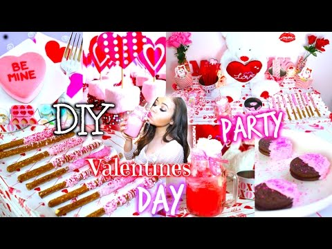 Diy Valentines Day Party Diy Treats Decorations More Krazyrayray