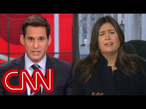 Sarah Sanders tries to distance Roger Stone arrest from Trump