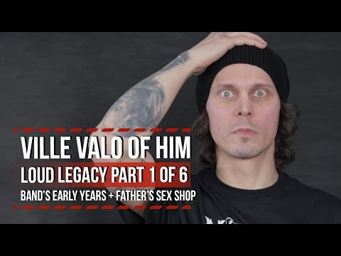 HIM's Ville Valo on Band's Early Years + Father's Sex Shop